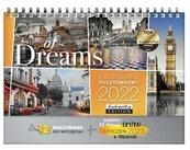 Kalendarz 2022 pocztówkowy City of Dreams