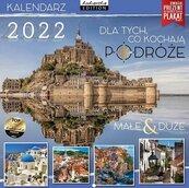 Kalendarz 2022 ścienny Classic Podróże