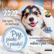 Kalendarz 2022 ścienny Classic Psy