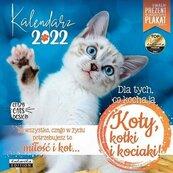 Kalendarz 2022 ścienny Classic Koty