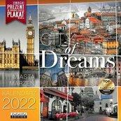 Kalendarz 2022 ścienny Classic City of Dreams