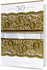 Karnet B6 Rocznica ślubu KL HM100-1037