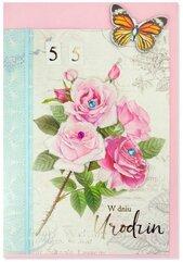 Karnet B6 Urodziny (wymienne cyf.) HM200-2348