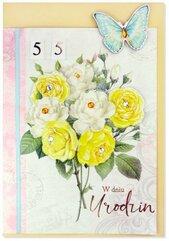 Karnet B6 Urodziny (wymienne cyf.) HM200-2344