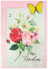 Karnet B6 Urodziny (wymienne cyf.) HM200-2346