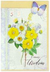Karnet B6 Urodziny (wymienne cyf.) HM200-2343