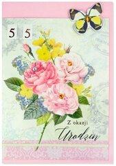 Karnet B6 Urodziny (wymienne cyf.) HM200-2345