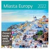 Kalendarz 2022 z naklejkami Miasta Europy