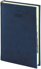 Kalendarz 2022 A5 dzienny Vivella granatowy