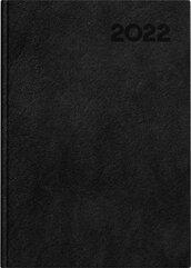 Kalendarz 2022 książkowy A5 Basic DTP czarny