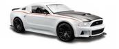 MAISTO 31506 New Ford Mustang Street Racer biały 1/24