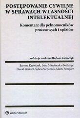 Postępowanie cywilne w sprawach własności intelektualnej Komentarz dla pełnomocników procesowych i sędziów