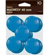 Magnes 40mm niebieski 10szt GRAND