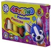 Plastelina 6 kolorów Astrino ASTRA