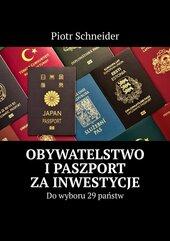 Obywatelstwo i paszport za inwestycje