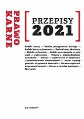 Przepisy 2021 Prawo karne sierpień 2021