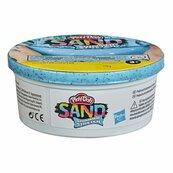 Play-Doh Sand - Piasek Brokatowy Tuba pojedyncza 170g Cyjan F0108