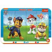 Puzzle Ramkowe Baby Psi Patrol 80022 TREFL p15