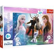 Puzzle 300el Magiczny czas. Frozen 2. Kraina Lodu 2. 23006 Trefl p8