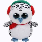 TY BEANIE BOOS NESTER - świąteczny pingwin 15cm 36221