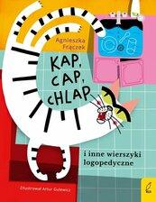 Kap cap chlap i inne wierszyki logopedyczne