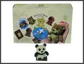 Panda z groszkiem 7cm p24 A189-DB HIPO, cena za 1szt.