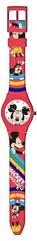 Zegarek analogowy w metalowym opakowaniu Myszka Miki WD21199 Kids Euroswan