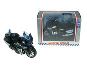 Motocykl policja 13cm z napędem światło, dźwięk M1217U