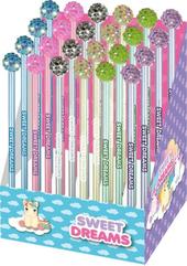 Ołówek z diamentową kulą Sweet Dreams KL10864 p20 mix cena za 1 szt Kids Euroswan