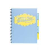 Kołozeszyt B5 kratka Project Book Pastel niebieski