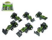 Traktor z akcesoriami 10 cm 955-191 HIPO