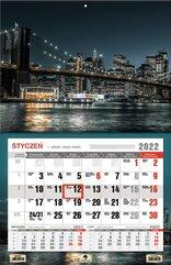 Kalendarz 2022 jednodzielny XL Miasto