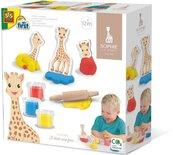 Ciasto masa zwierzątka - Żyrafa Sophie