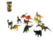 Dinozaury 12 rodzajów 13 cm KL5-012A HIPO