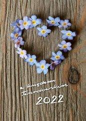 Kalendarz 2022 z ks. Twardowskim - niezapominajka