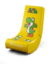 X Rocker Oficjalnie licencjonowany Nintendo Video Rocker – kolekcja Super Mario ALL-STAR Yoshi 2020095 promo