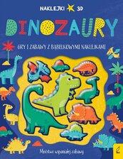 Wypukłe naklejki Dinozaury