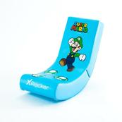 X Rocker Oficjalnie licencjonowany Nintendo Video Rocker - Super Mario ALL-STAR Collection Luigi 2020098 promo