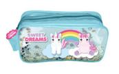 Kosmetyczka z brokatem, 2 wzory Sweet Dreams KL10650 Kids Euroswan