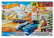 Hot Wheels kalendarz adwnetowy 2021 8 aut