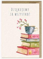 Kartka na Dzień Nauczyciela Książki K125