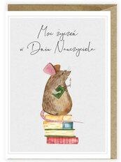 Kartka na Dzień Nauczyciela Myszka K124