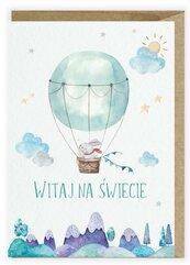 Kartka z okazji narodzin Balonik K117