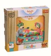 Zabawka drewniana - Poznaj zabawki Bobaski i Miś