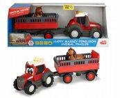 Happy Massey Ferguson Traktor z przyczepą