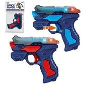 Pistolet ze światłem i dźwiękiem 12cm