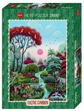 Puzzle 2000 Egzotyczny ogród