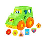 Polesie 89410 Zabawka edukacyjna traktor w siatce