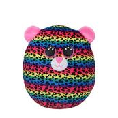 TY Squish-a-Boos wielokolorowy leopard - DOTTY, 22 cm - Medium 39286