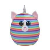 TY Squish-a-Boos tęczowy kot - HEATHER, 22 cm - Medium 39289